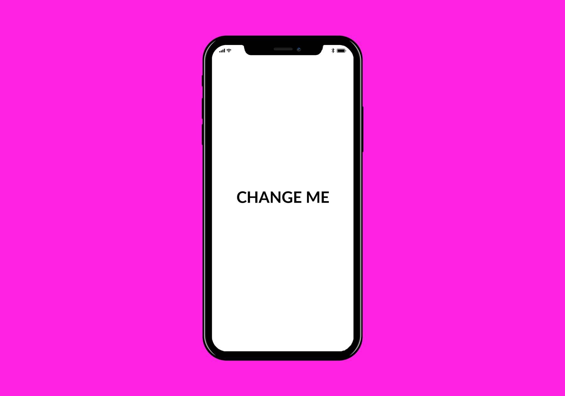 iPhone X FREE PSD Mockup