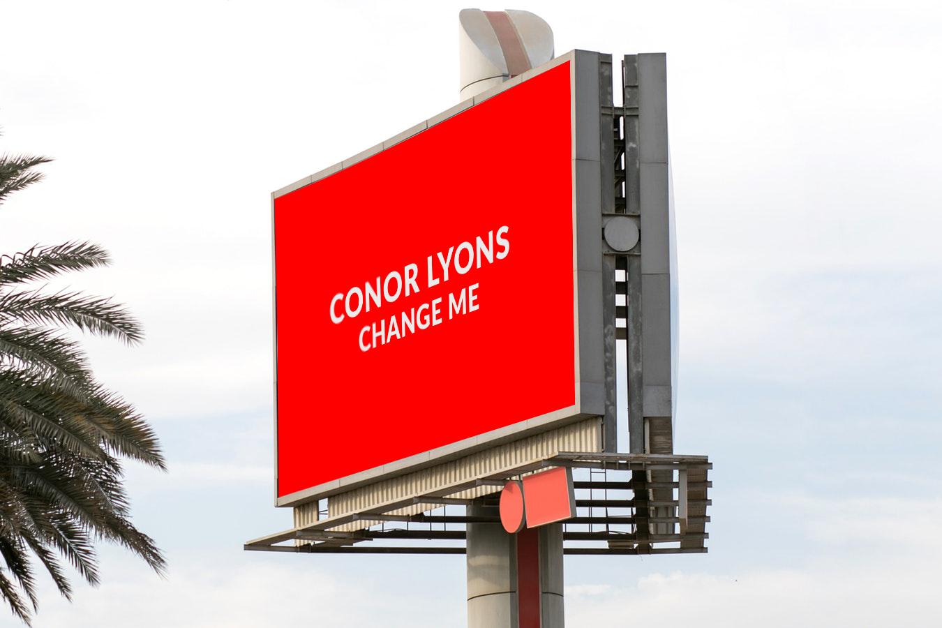 Billboard Tower Mockup