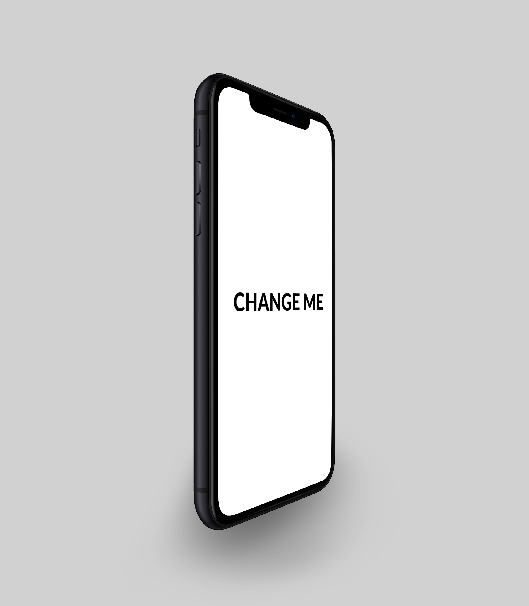 FREE iPhone X R PSD Mockup